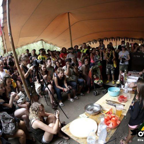 Tolmin, 19/08/2016 - OVERJAM REGGAE FESTIVAL 2016 - University - How To Create Integration Through Food - speaker: Chef Rubio - Foto © 2016 Elia Falaschi / OverJam